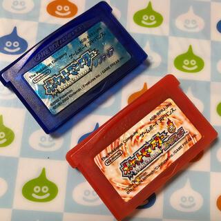 ゲームボーイアドバンス(ゲームボーイアドバンス)の中古GBAソフト ポケットモンスター サファイア&ファイアレッド!(携帯用ゲームソフト)