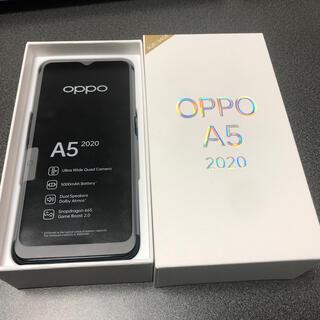 ラクテン(Rakuten)のOPPO A5 2020 グリーン(スマートフォン本体)