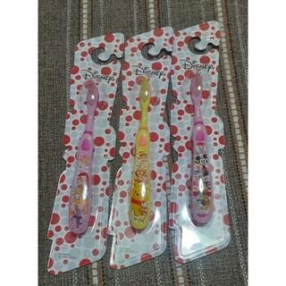 ディズニー(Disney)のディズニー 歯ブラシ 3本セット 子供用 (歯ブラシ/歯みがき用品)