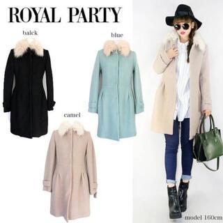 ロイヤルパーティー(ROYAL PARTY)のROYAL PARTY FOXファースタンドコート (毛皮/ファーコート)
