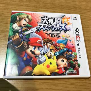 ニンテンドウ(任天堂)の大乱闘スマッシュブラザーズ for Nintendo 3DS 3DS(携帯用ゲームソフト)