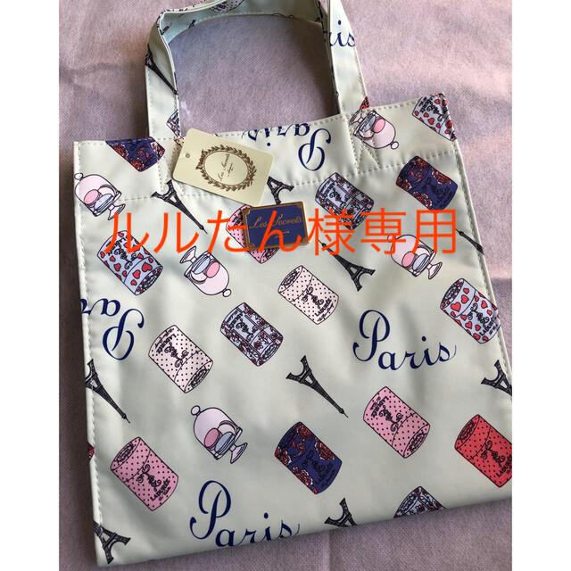 Les Merveilleuses LADUREE(レメルヴェイユーズラデュレ)のLADUREE 「ラデュレ」トートバッグ/エコバッグ レディースのバッグ(トートバッグ)の商品写真
