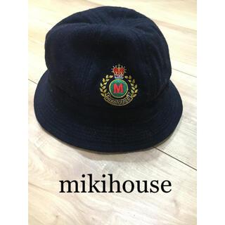 ミキハウス(mikihouse)のミキハウス 帽子 レトロ 48(帽子)