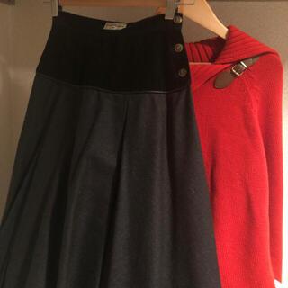 サンローラン(Saint Laurent)のYves Saint Laurent flare skirt(ひざ丈スカート)