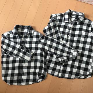 GU - お揃い シャツ