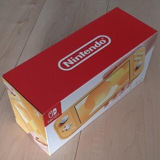 ニンテンドウ(任天堂)のNintendo Switch Lite イエロー(家庭用ゲーム機本体)