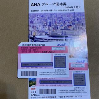 アナログライティング(analog lighting)のANA株主優待券 2枚(ショッピング)