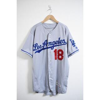 マジェスティック(Majestic)のマジェスティック MLB ドジャース 前田健太 オーセンティック ユニフォーム(ウェア)