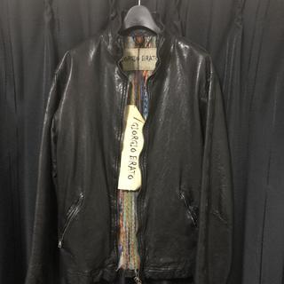 ジョルジオブラット伊勢丹メンズ館限定モデルレザージャケット ライダースジャケット