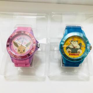 ポケモン(ポケモン)のイーブイ&カビゴン 時計セット(腕時計)