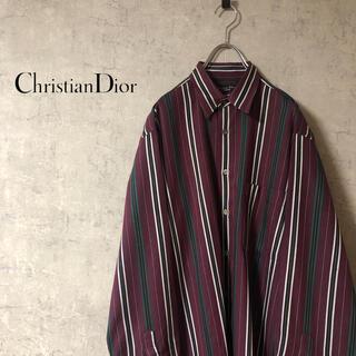 クリスチャンディオール(Christian Dior)のChristian Dior クリスチャンディオール 90s ストライプシャツ(シャツ)