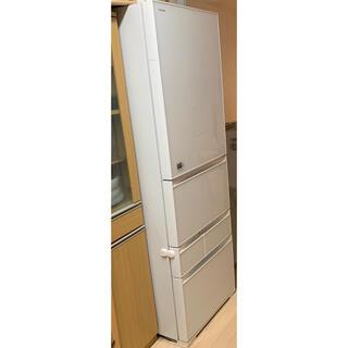 トウシバ(東芝)の東芝 ノンフロン 冷蔵冷凍庫 2016年製 410L ホワイト(冷蔵庫)