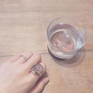 スナイデル(snidel)の天然石リング(リング(指輪))