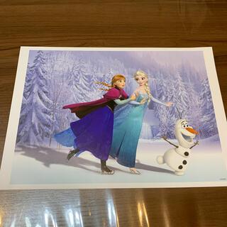 ディズニー(Disney)の非売品 ディズニー アナと雪の女王 ②アートコレクション(絵画/タペストリー)