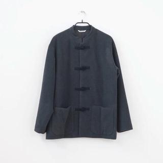 コモリ(COMOLI)のAURALEE × スタイリスト私物 チャイナジャケット オーラリー カシミヤ(ブルゾン)