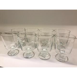 イケア(IKEA)の【8個セット】IKEA 365+ ゴブレット, クリアガラス(グラス/カップ)