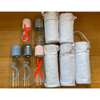 ベビーディオール(baby Dior)のDIOR 哺乳瓶 耐熱ガラス 売り切り(哺乳ビン)