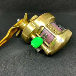 ラインストッパー 緑10個(釣り糸/ライン)