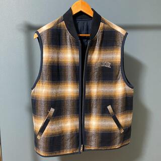 シュプリーム(Supreme)のSupreme reversible vest ベスト リバーシブル M(ベスト)