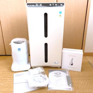 アムウェイ(Amway)の3点セット*空気清浄機(美品)&浄水器(新品未使用)&電動洗顔ブラシ(美品)(空気清浄器)