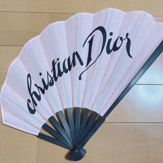 クリスチャンディオール(Christian Dior)のDIOR ノベルティ 扇子 ディオール (ノベルティグッズ)