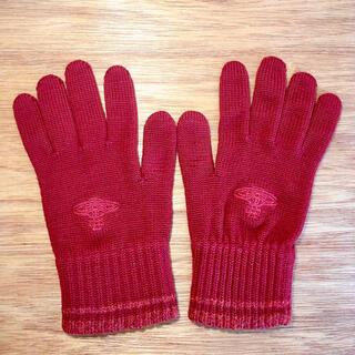 ヴィヴィアンウエストウッド(Vivienne Westwood)のビビアンウエストウッド 手袋 ワインレッド(手袋)