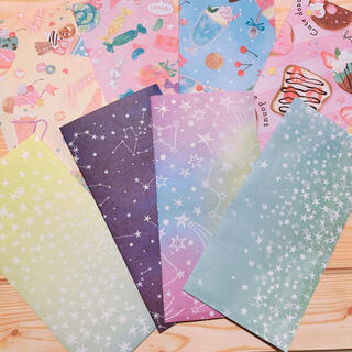 ☆78.手作り平袋(カード/レター/ラッピング)