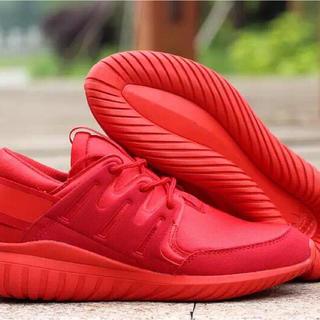 スニーカー メンズ 赤 adidas