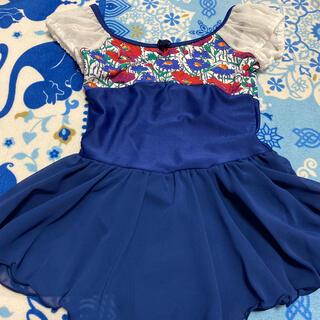 チャコット(CHACOTT)の新品チャコットスカート付レオタード130 リバティ生地定価13200バレエ (その他)