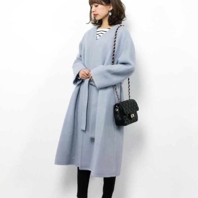 Mila Owen(ミラオーウェン)のミラオーウェン ガウンコート レディースのジャケット/アウター(ガウンコート)の商品写真
