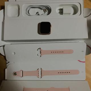 アップルウォッチ(Apple Watch)のApple Watch Series 5 GPS 44mm ゴールド(腕時計(デジタル))