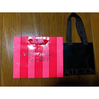 ヴィクトリアズシークレット(Victoria's Secret)のアディクションショップ袋 紙袋 ヴィクトリアシークレット紙袋(ショップ袋)