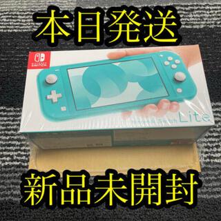 ニンテンドウ(任天堂)の新品未開封★Nintendo Switch Lite ターコイズ  (携帯用ゲーム機本体)