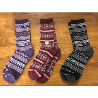 コロンビア(Columbia)の新品コロンビア Columbia メンズソックス 靴下3足セット152(ソックス)