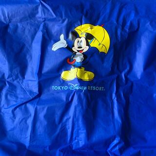 ディズニー(Disney)のミッキー レイン ポンチョ 110(レインコート)