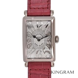 フランクミュラー(FRANCK MULLER)のフランクミュラー ロングアイランド レリーフ  レディース腕時計(腕時計)