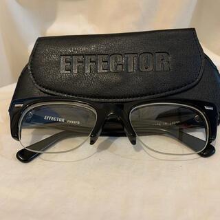 エフェクター(EFFECTOR)のEFFECTORエフェクター reverb リバーブ メガネ(サングラス/メガネ)