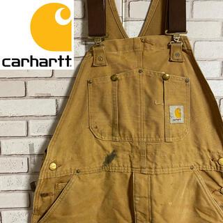 カーハート(carhartt)の90s 古着 カーハート メキシコ製 オーバーオール ダック地(サロペット/オーバーオール)
