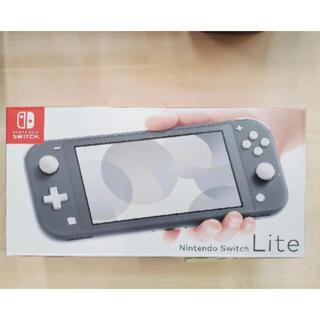 ニンテンドウ(任天堂)の新品未開封★Nintendo Switch Lite グレー(携帯用ゲーム機本体)