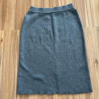 アンレリッシュ(UNRELISH)のUNRELISHニットタイトスカート(ひざ丈スカート)