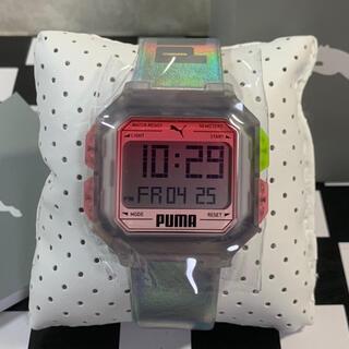 プーマ(PUMA)の◆新品未使用◆プーマ  腕時計 REMIX P5037 正規輸入品 シルバー  (腕時計(デジタル))