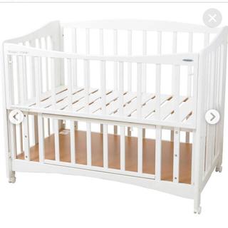 コンビミニ(Combi mini)のコンビミニ カンタン組み立てベビーベッド 新生児 出産準備(ベビーベッド)