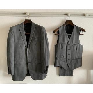 BURBERRY BLACK LABEL - BURBERRY BLACK LABEL スーツ 上下セット ベスト付き
