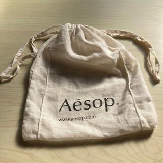 イソップ(Aesop)のAesopの巾着 100%cotton ギフト袋(ポーチ)