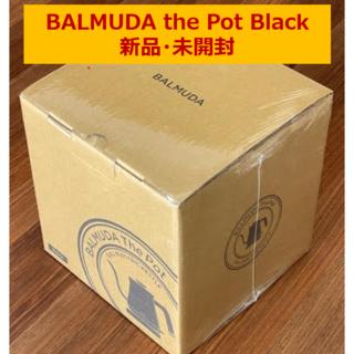 バルミューダ(BALMUDA)のBALMUDA The Pot Black 新品未開封(電気ケトル)