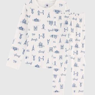 プチバトー(PETIT BATEAU)の新品 日本未発売 プチバトー パジャマ 5ans(パジャマ)