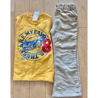 アカチャンホンポ(アカチャンホンポ)の【すぐ着られる】110センチ 男の子 トレーナー ズボン 2枚セット(Tシャツ/カットソー)