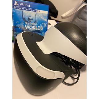 """プレイステーションヴィーアール(PlayStation VR)のPSVR """"PlayStation VR WORLDS"""" 同梱版 【PS4】(家庭用ゲーム機本体)"""
