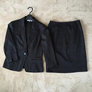 ナチュラルビューティーベーシック(NATURAL BEAUTY BASIC)の★NBBナチュビュー 黒スカートスーツ★(スーツ)