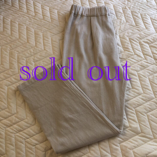 エヴァムエヴァ(evam eva)のevam eva/ garment dyed pants(カジュアルパンツ)